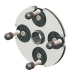 QuickPlate kiirkinnitus adapter 4 poldiga velgedele, Haweka