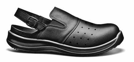 Darbiniai sandalai Clima, juoda, S1 SRC, Sir Safety System