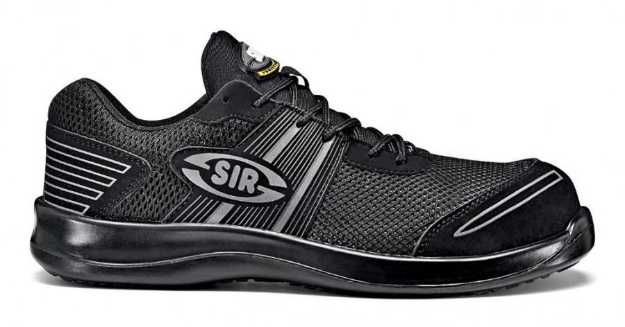 Darbiniai batai Mesh Fobia S1P SRC, juoda, Sir Safety System