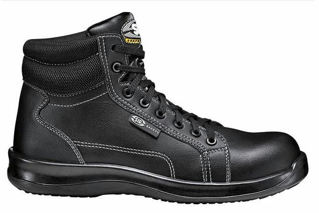 Apsauginiai batai Black Fobia S3 SRC, juoda, Sir Safety System