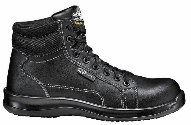 Apsauginiai batai Black Fobia S3 SRC, juoda, 37, Sir Safety System