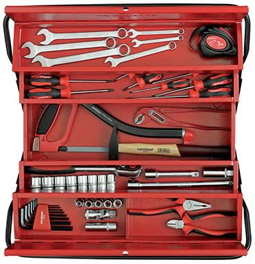 tool case + universal set ALL-IN 109-pcs 2230.030, Carolus