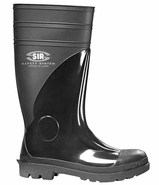Guminiai batai UB40 S5, juoda 47, Sir Safety System