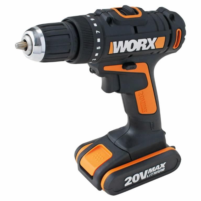 Akutrell WORX WX166.3 / 20V Max / 2,0 Ah Li-ioon, Worx