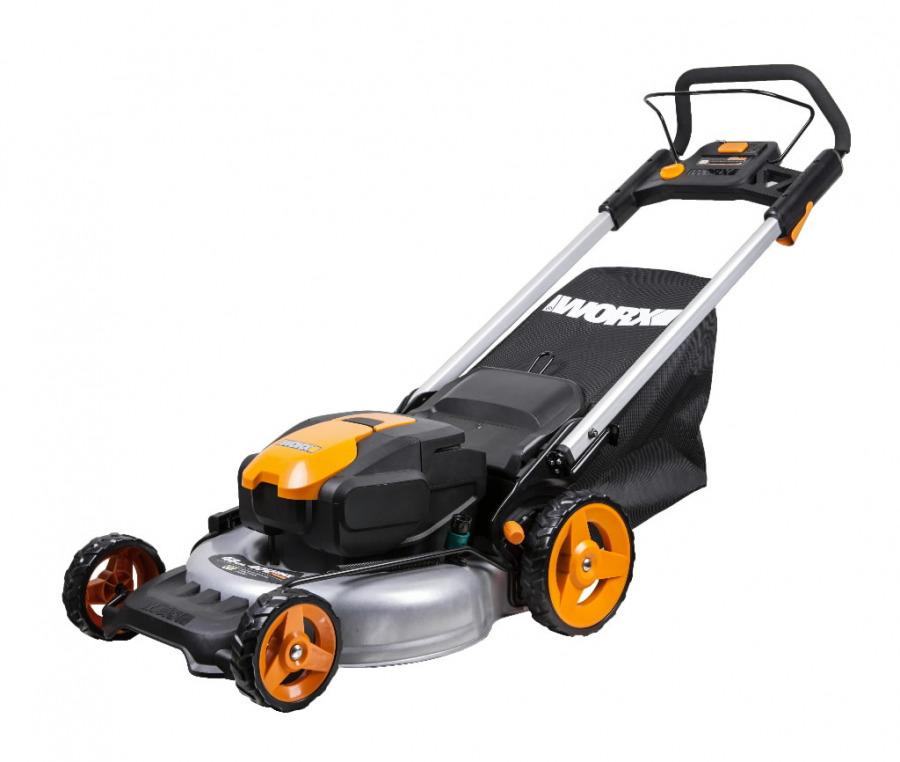 Cordless Lawn Mower WG770E, 24 V / 48 cm, Worx