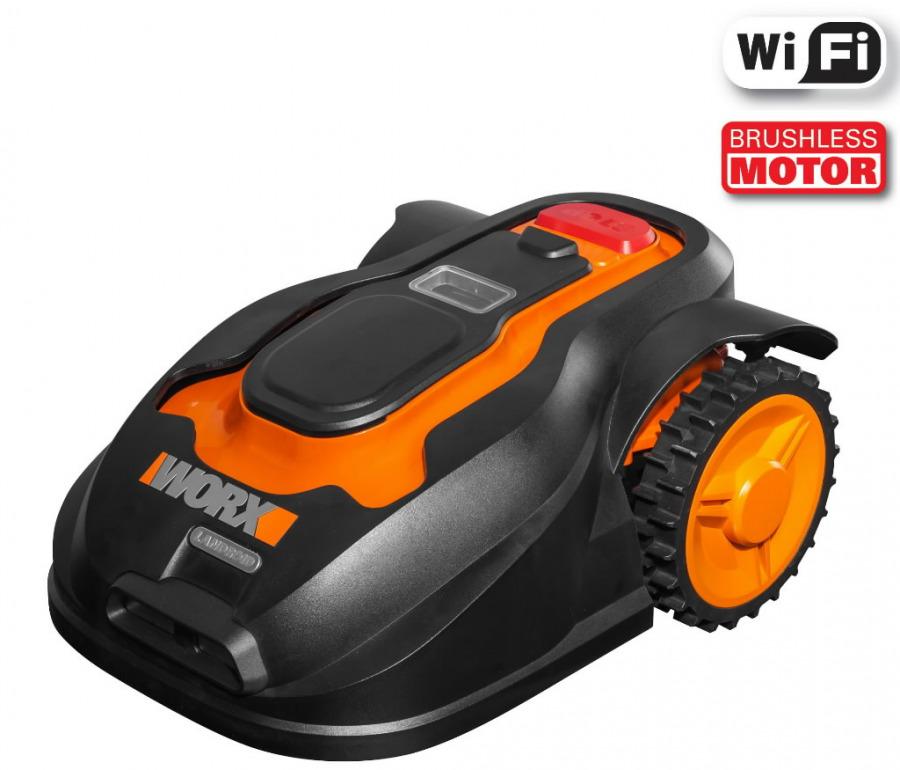 Robotniiduk Landroid M, WG796E.1, WiFi, 1000m2+WX255.1, Worx