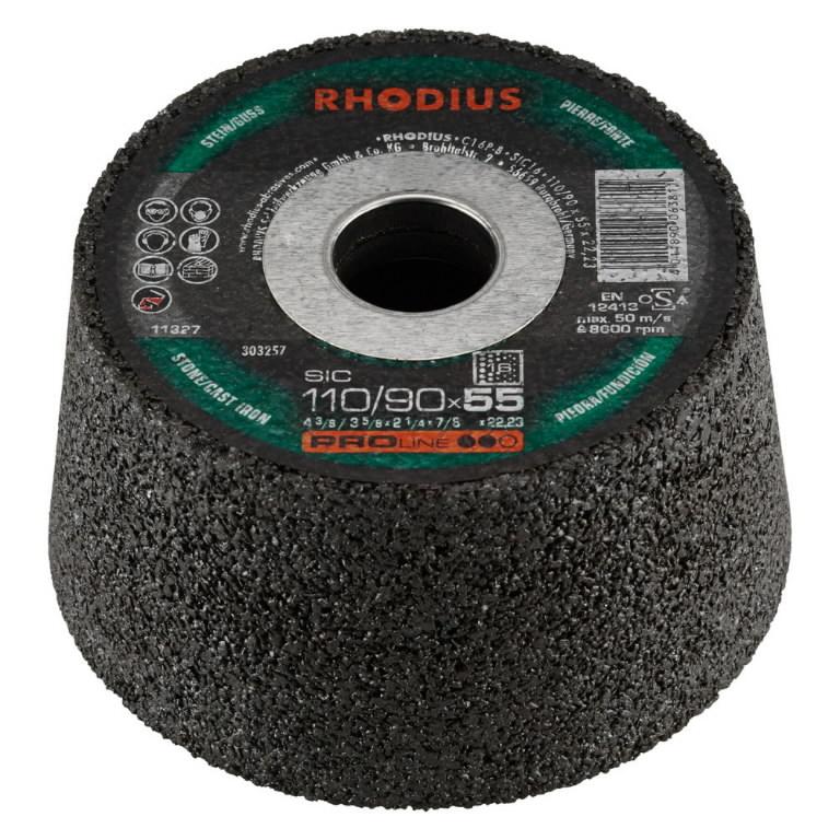 Puodelis akmeniui SIC60 (201980), Rhodius