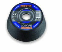 Šlif.puodelis metalui NK 110/90x22,2 G60, Rhodius