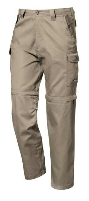 Trousers 2in1 Reporter, beige 3XL