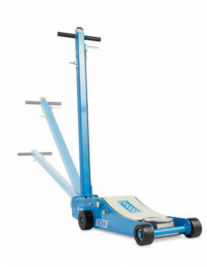 Air-hydraulic trolley jack 5T 10 bar, OMCN