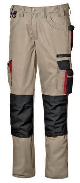 Kelnės Harrison, chaki, Sir Safety System