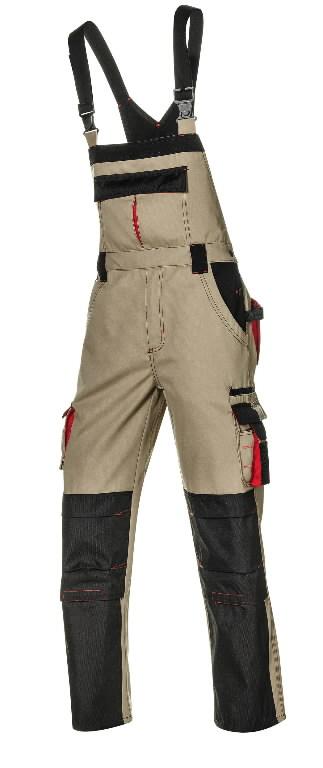Puskombinezonis Harrison, chaki, Sir Safety System