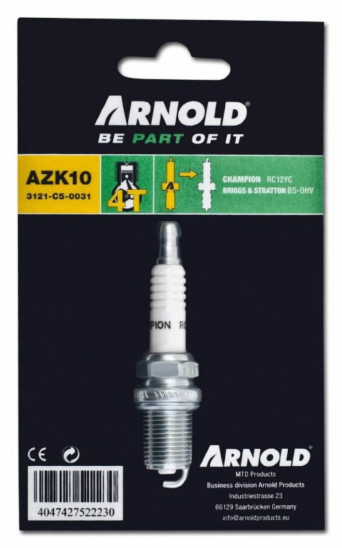 Spark plug RC12YC, MTD PRODUCTS AG
