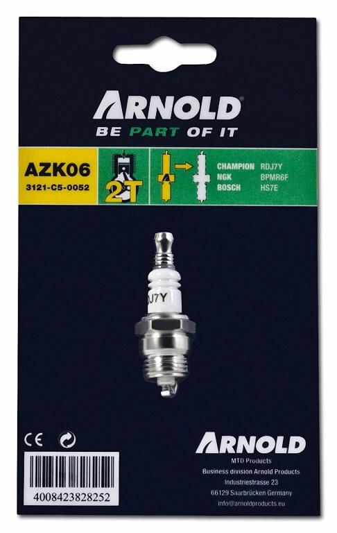 Spark plug RDJ7Y, MTD PRODUCTS AG