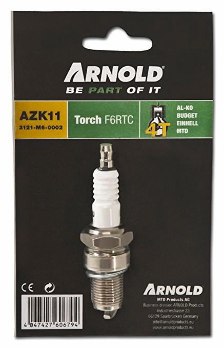 Spark plug F6RTC, Arnold