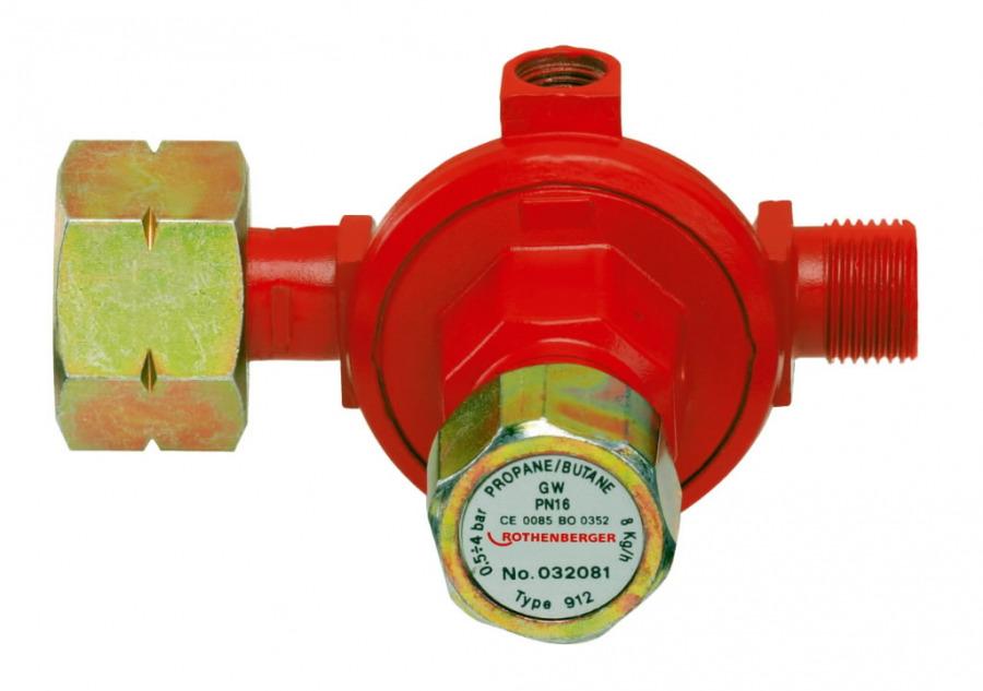 propaani regulaator W21,8x1,1/4''- R3/8'', Rothenberger