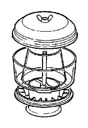 Priešfiltris oro filtro, mazgas, JCB