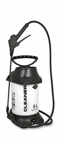 Survepihusti CLEANER 5 L, Mesto