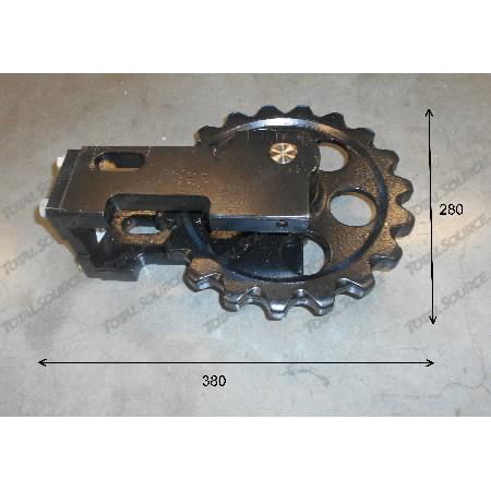 Idler wheel JCB 332/V6842 MINI, TVH Parts