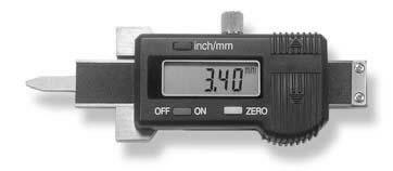 Skaitmeninis matuoklis padangoms 0-30mm modelis 340, Scala