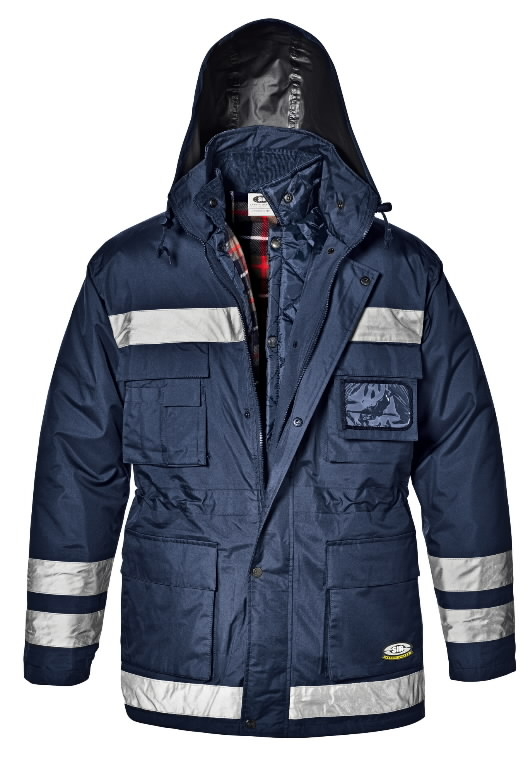 Žieminė Striukė 4 -1 Police, t. mėlyna L, Sir Safety System