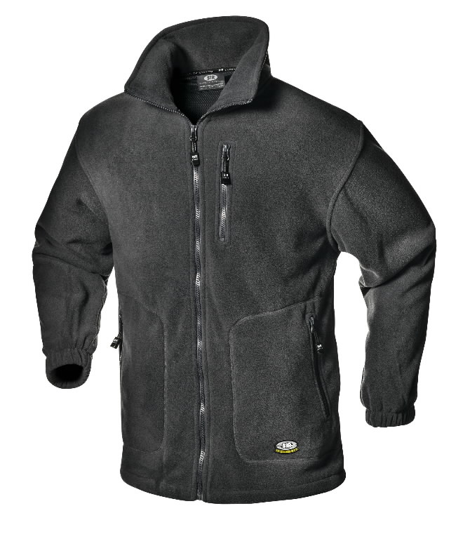 Fliisjakk Blouson, hall, XL, Sir Safety System