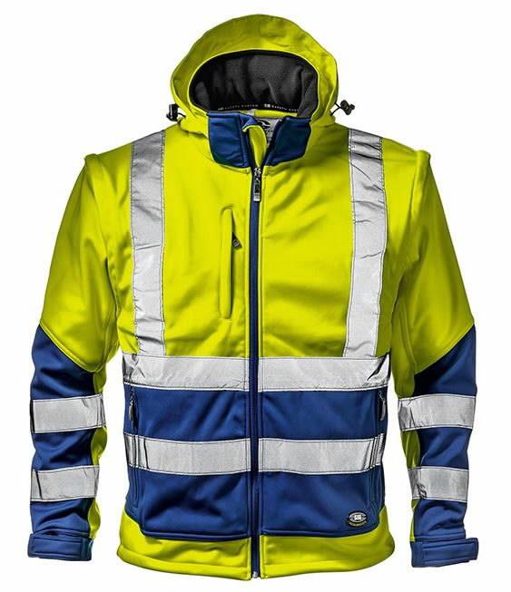 Striukė Starmax, didelio matomumo geltona- mėlyna XL, Sir Safety System