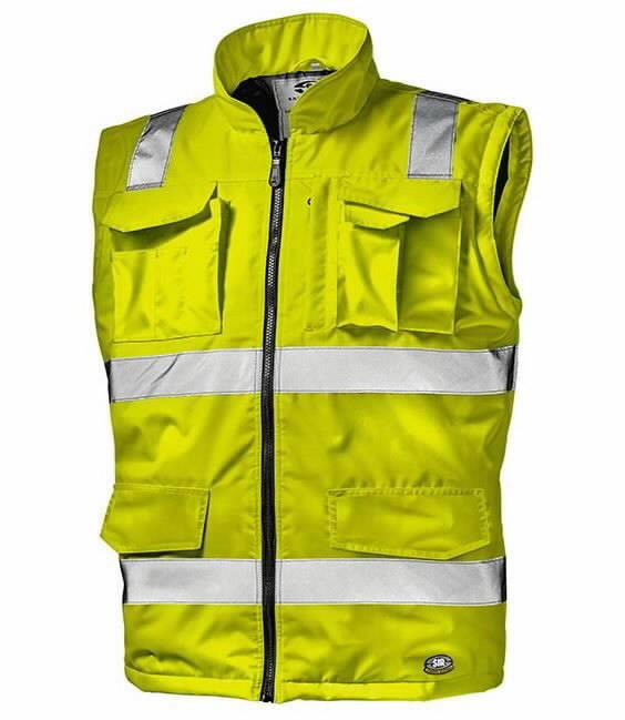 Liemenė Spirit, didelio matomumo, geltona L, Sir Safety System