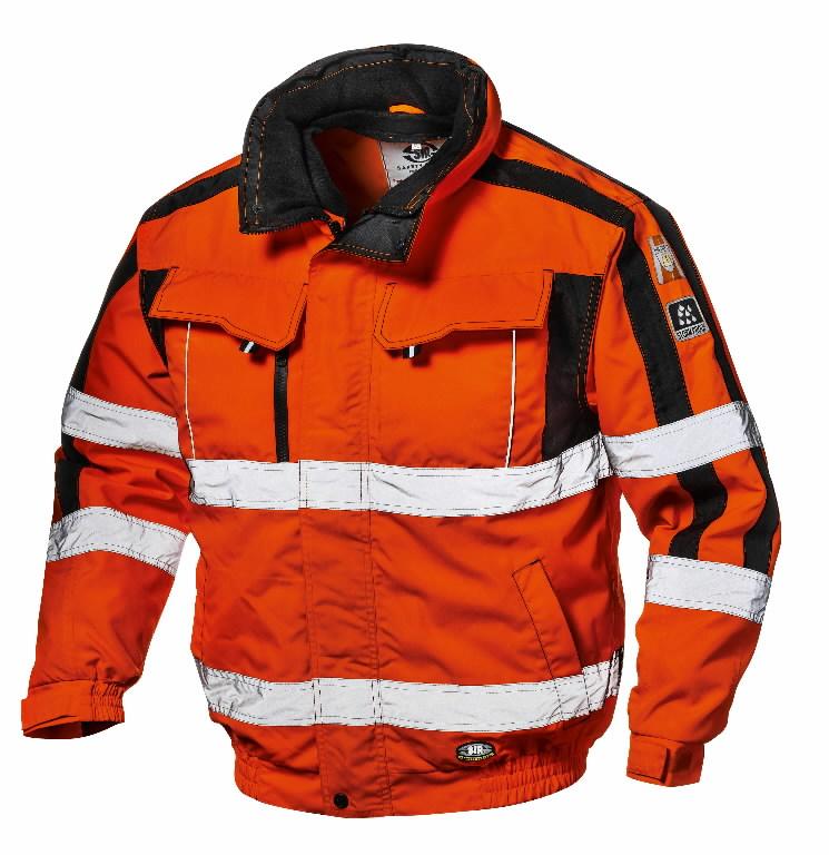 Žieminė Striukė 4 - 1 Contender, oranžinė, 3XL, Sir Safety System