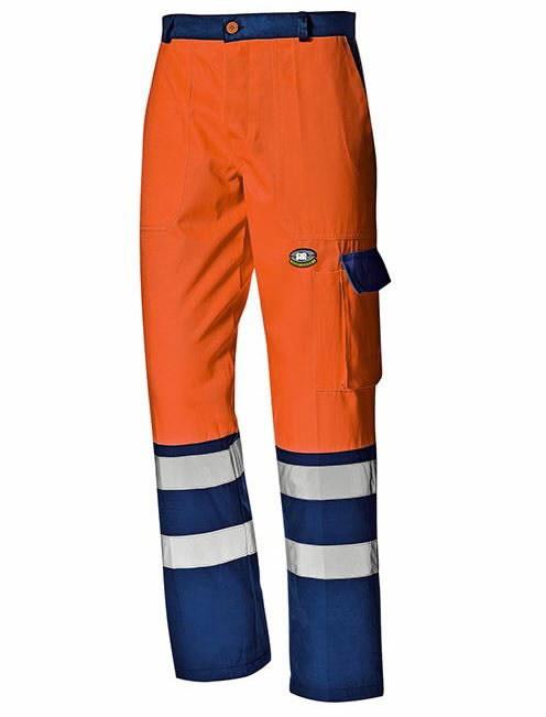 Kelnės Mistral, oranžinė/mėlyna, 52, Sir Safety System