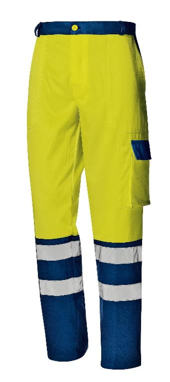 Püksid Mistral, kollane/tumesinine, 52, Sir Safety System