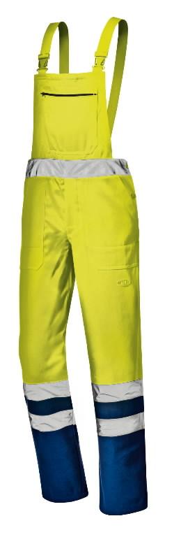 Traksipüksid Mistral, kollane/tumesinine, 56, Sir Safety System