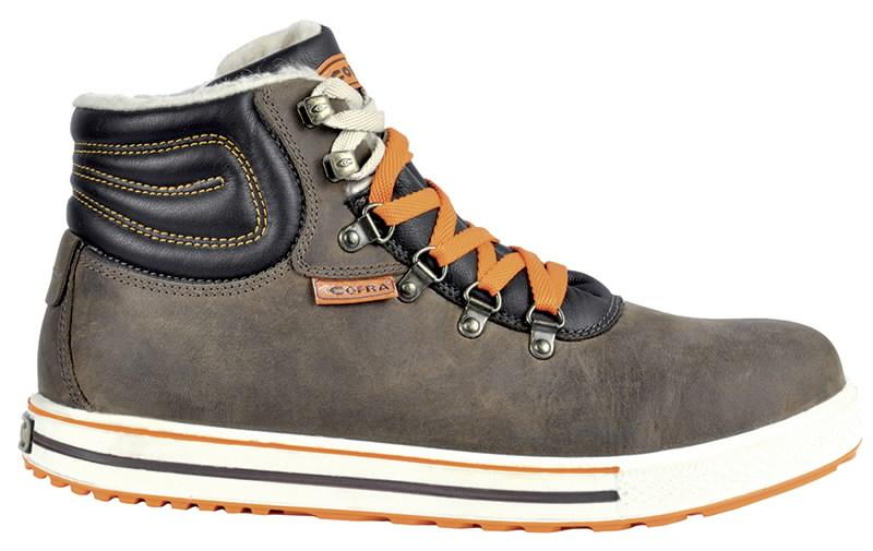 Žieminiai apsauginiai  batai  Alley S3 SRC CI HRO, ruda 43, Cofra