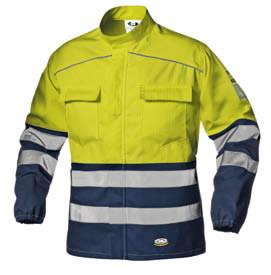 Striukė Multi Supertech geltona/t.mėlyna, Sir Safety System