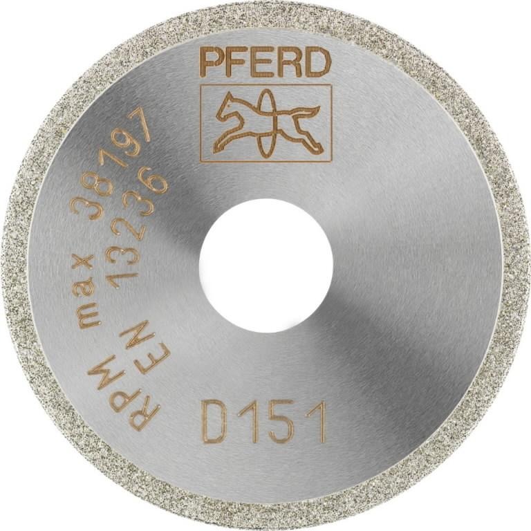 Deimantinis diskas 40x1/6mm D151GAD D1A1R, Pferd