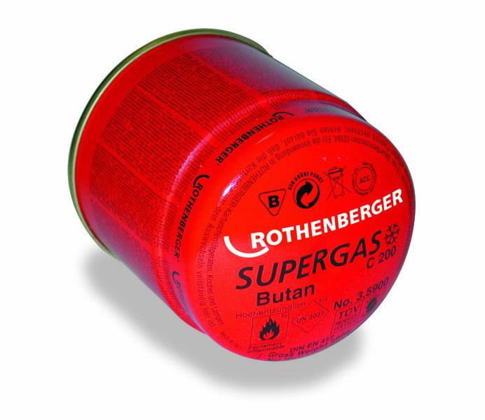 gaas C200 SUPERGAS 190g, Rothenberger