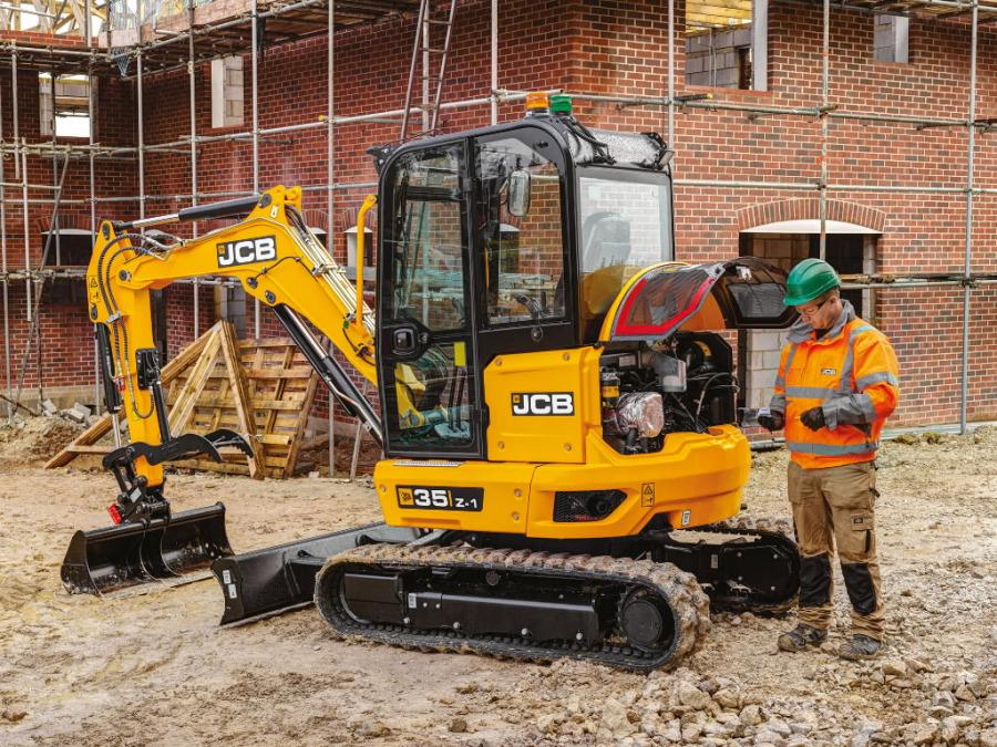 Mini excavator  35Z-1, JCB
