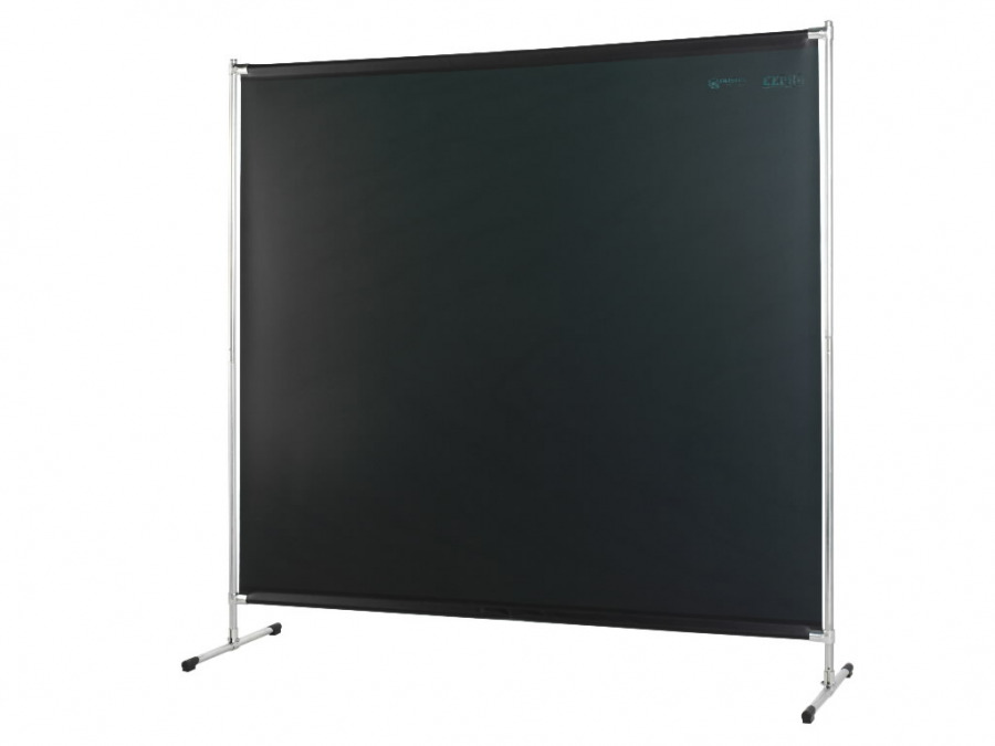 Welding screen w.curtain 200x200cm, green-9 Cepro Gazelle, Cepro International BV