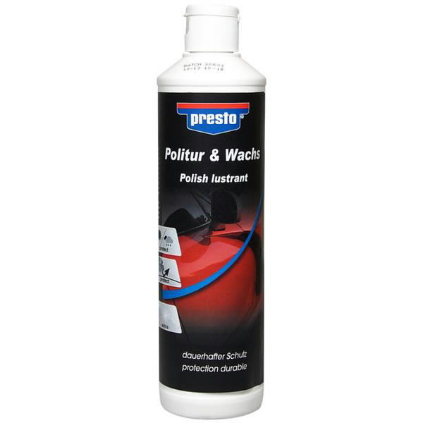 poleerimisvaha Polish & Wax 500ml, BL, Presto