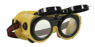 Suvirinimo/pjovimo akiniai Flippo 4, tamsumas DIN 5, VLAMBOOG