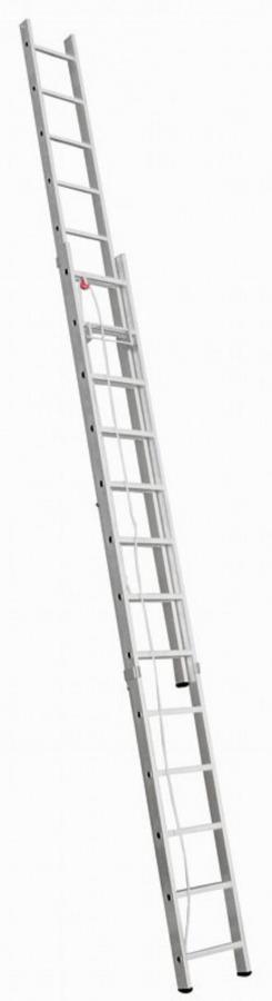 köiega redel 3,66/6,2 m, 2x13 astet, Alpe