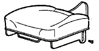 Rinkinys sėdynės pagrindo, audinys, JCB