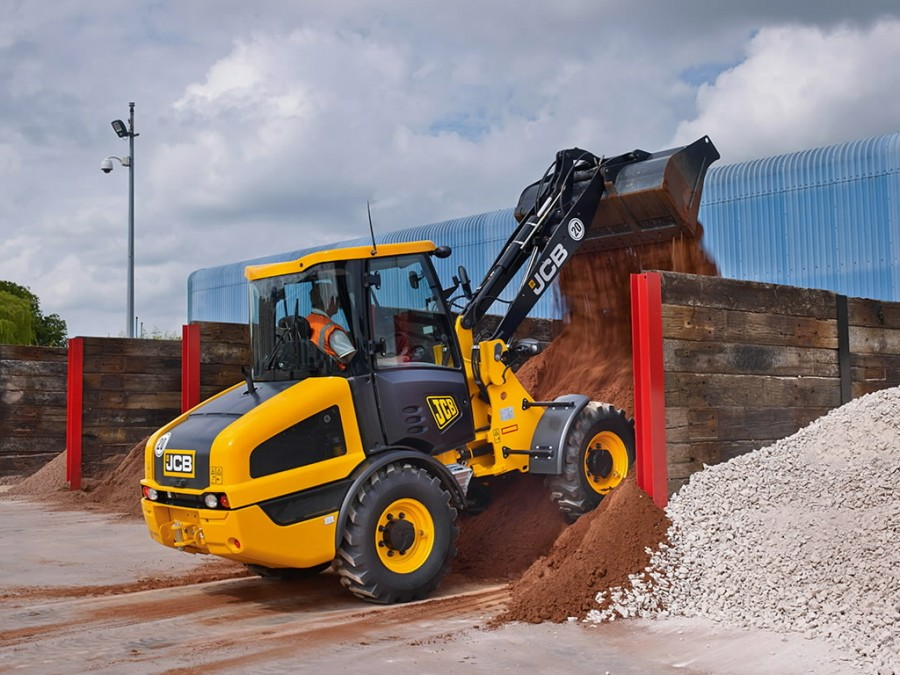 Wheel loader  406, JCB