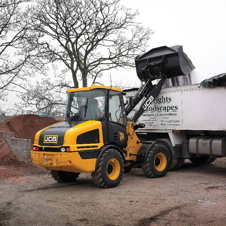 Wheel loader  407, JCB