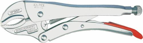 Replės fiksuotam suspaudimui, apvaliems, Ø 8-30 mm, Knipex
