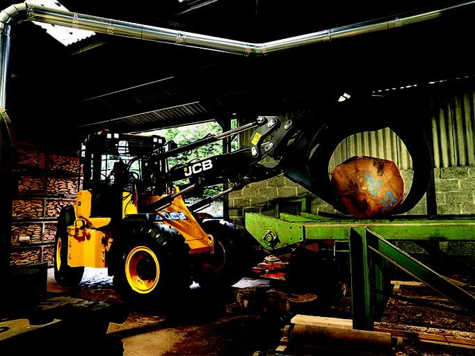 Wheeled loader  417 HT, JCB