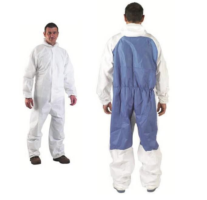 Apsauginis  kostiumas  su gobtuvu (nuo  cheminių medž.) TIDY 2XL, Other