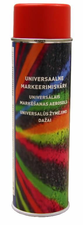 Universaalne markeerimisvärv, punane 500ml, Motip