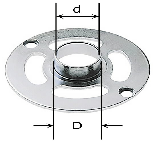 Kopijavimo žiedas KR-D13,8/OF900, Festool