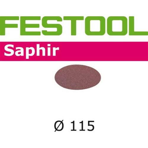 Šlif. popierius Saphir STF-D115/0-P80-SA, Festool